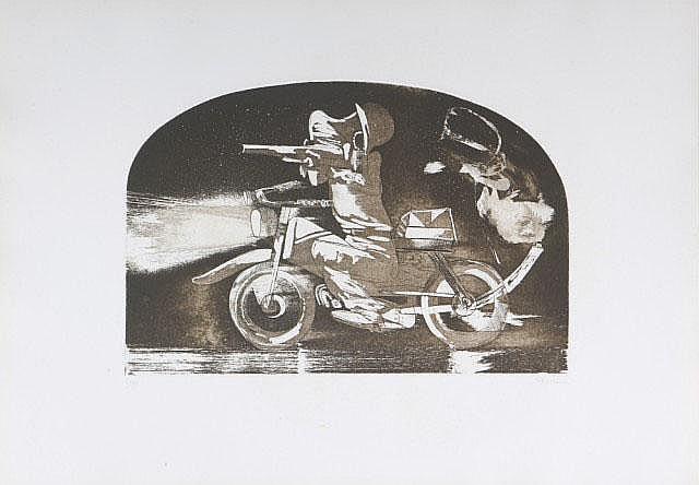 Senza titolo 5/99 GASTON ORELLANA (1933)