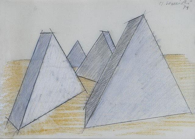 Senza titolo 1979 MAURO STACCIOLI (1937)