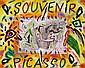 Souvenir Picasso Autentica dell'artista su, Bruno Donzelli, Click for value