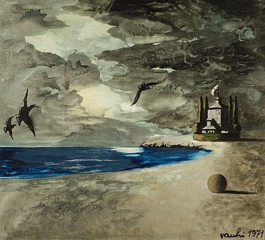 Paesaggio della solitudine 1971 SERGIO VACCHI