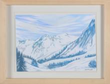 MONTESANO GIAN MARCO (n. 1949) Mountain.