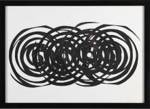 CAMPESAN SARA (n. 1924) Crossing spirals.
