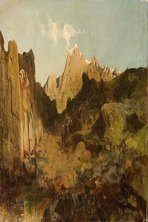 GAETANO FASANOTTI (1831-1882) Personaggi in un