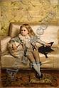 MICHELE GORDIGIANI (1835-1909) Ritratto del figlio, Michele Gordigiani, Click for value