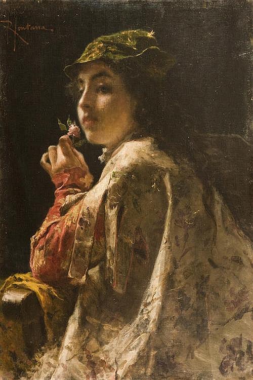 ROBERTO FONTANA (MILANO 10 APRILE 1844-25 NOVEMBRE