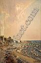 GINO ROMITI (LIVORNO 1881-1967) baia al tramonto, Gino Romiti, Click for value