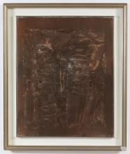 "BENDINI VASCO (1922 - 2015) From series ""Gesto e Materia"". Untitled."