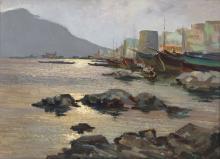 VERNI ARTURO (1891 - 1960) Paderno's port.