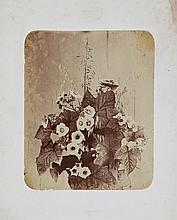 BRAUN ADOLPHE (1812 - 1877) Lot consisting of 2 prints. Still life of flowers.