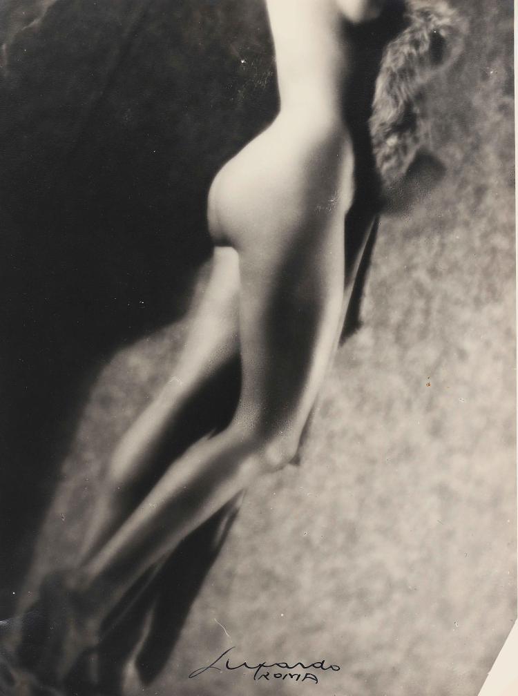 LUXARDO ELIO (1908 - 1969) Nude, study of legs.