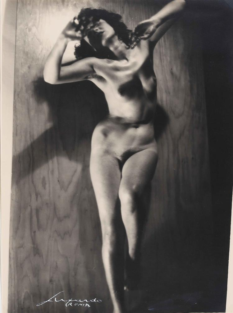 LUXARDO ELIO (1908 - 1969) Nude from the front.