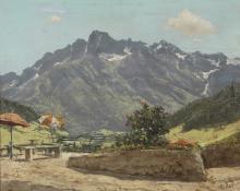 LEIDI PIETRO (1892 - 1930) Mountain landscape.