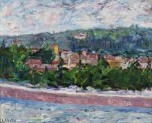 ALBERTINI LUCIANO (1910 - 1985) From my window.