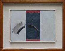 VAGLIERI TINO (1929 - 2000) Piatto che si rompe con finestra.