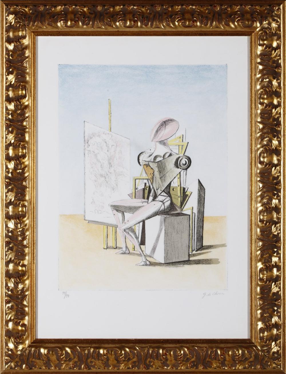 DE CHIRICO GIORGIO (1888 - 1978) Il pittore.