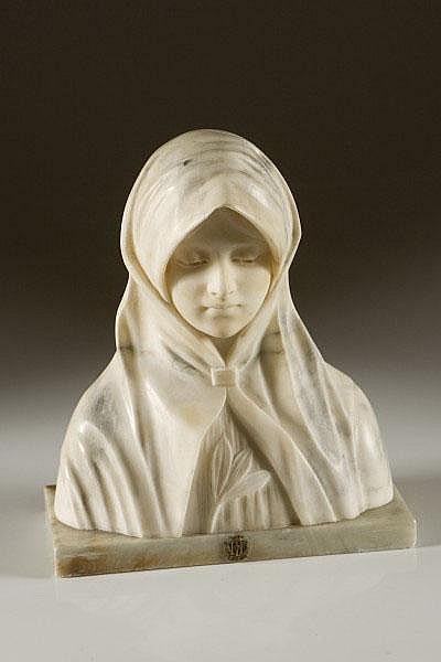 ARMANDO BARABINO (1883-1870) Madonna Firmata sul