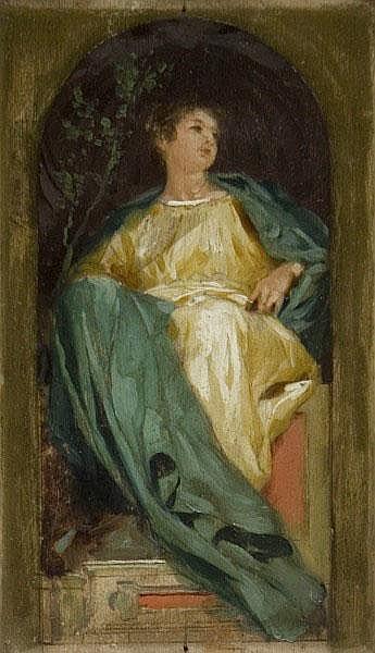 NICOLO' BARABINO (SAMPIERDARENA 1832- FIRENZE