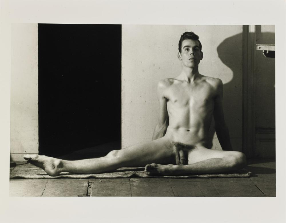 """FRENCH JARED (1905 - 1988) From the series """"Studio di nudo Tennessee Williams""""."""