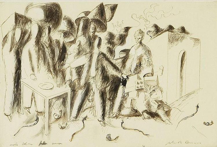 ROBERTO BARNI (1939) Arrivo del borghese eloquente