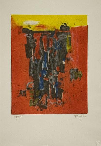ALFONSO BORGHI (1944) Senza titolo Tiratura: