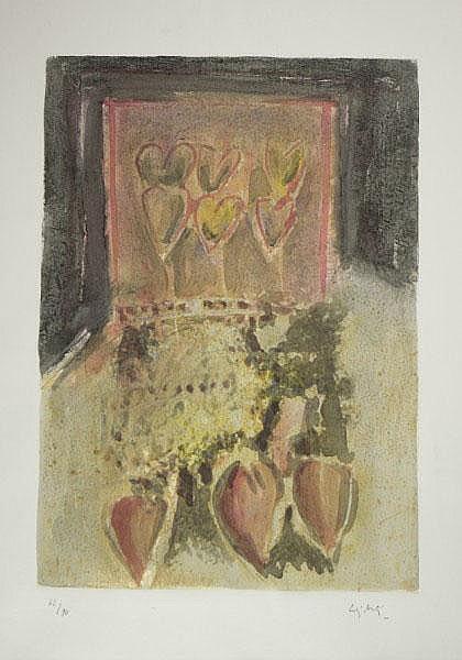 GIORGIO CELIBERTI (1929) Senza Titolo Firmato in
