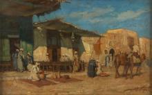 MORETTI FOGGIA MARIO (1882 - 1954) Cairo Road.