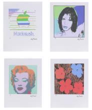 WARHOL ANDY (1928 - 1987) 4 serigraphs.