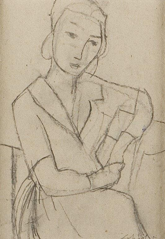 donna seduta
