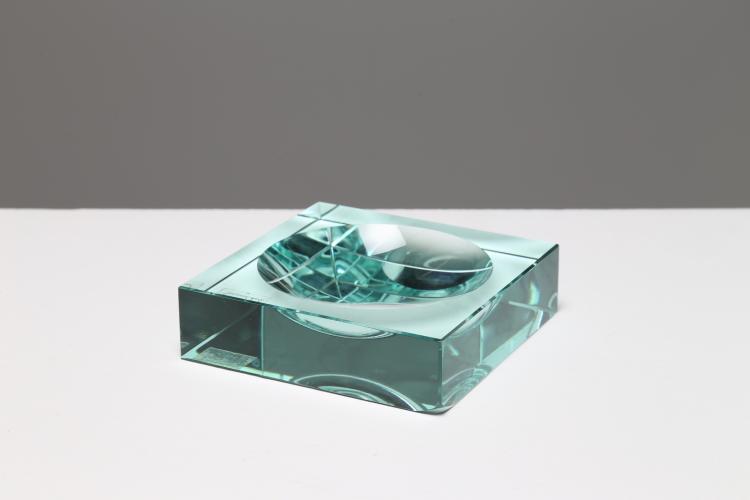 Posacenere in cristallo, anni 50