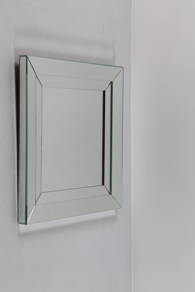 Specchio in vetro, anni 60
