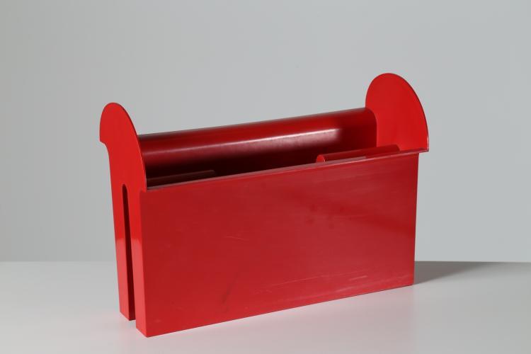 Portariviste in plastica, anni 70