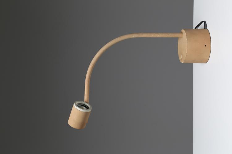Lampada da tavolo in metallo verniciato, mod. Halo Click 2, per Philips, anni 80