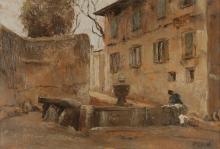 LEIDI PIETRO (1892 - 1930) La fontana di Cemmo.