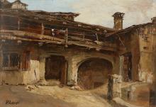 LEIDI PIETRO (1892 - 1930) Cemmo. La cà del Panto.