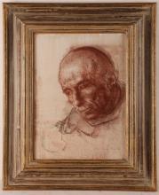 ANNIGONI PIETRO (1910 - 1988) Man face.