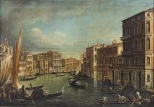 CANALETTO (1697 - 1768) From. Venice landscape.