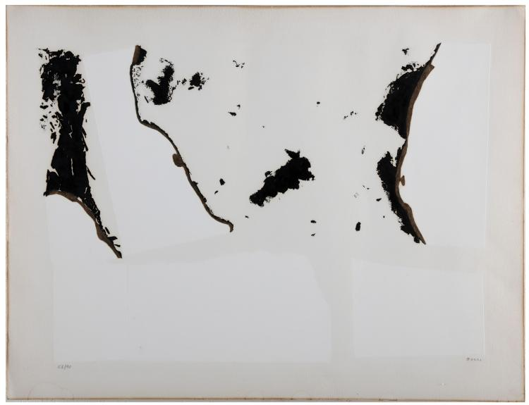 BURRI ALBERTO (1915 - 1995) Combustion.