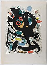 MIRO' JOAN (1893 - 1983) Exhibition at Pasadena Art Museum.