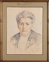 GEORGIEV BORIS (1888 - 1962) Portrait of Laura Testa.