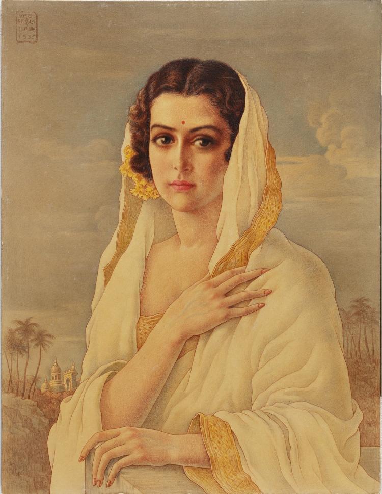 GEORGIEV BORIS (1888 - 1962) Haydarabad wilufar.