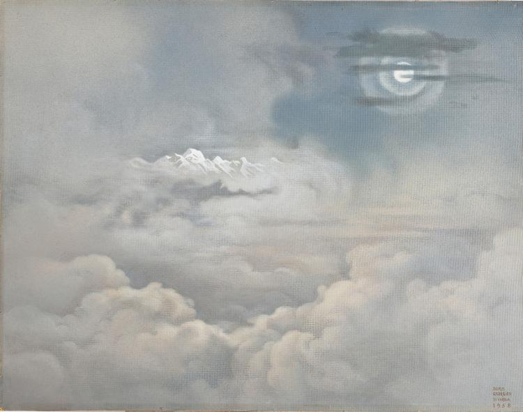 GEORGIEV BORIS (1888 - 1962) Moonlight simphony over Himalaya.