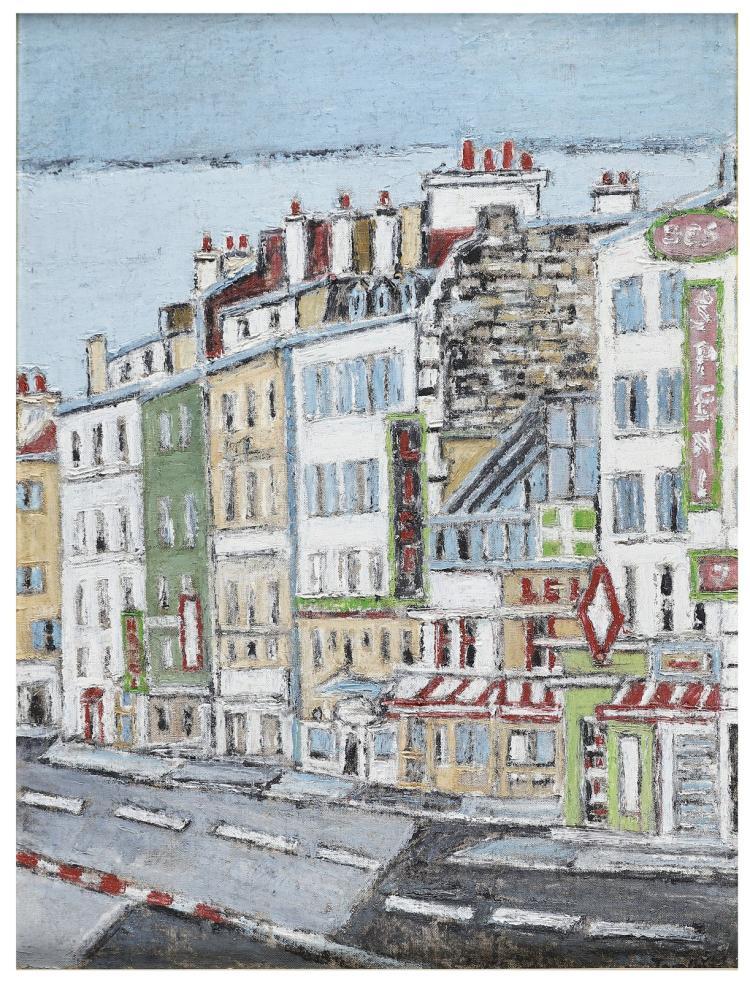 TAMBURI ORFEO (1910 - 1994) Landscape.