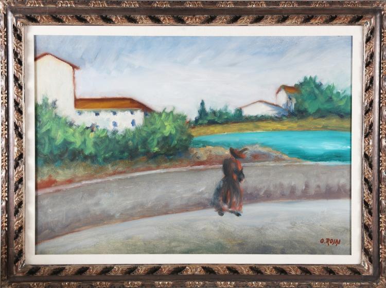 ROSAI OTTONE (1895 - 1957) Walk.