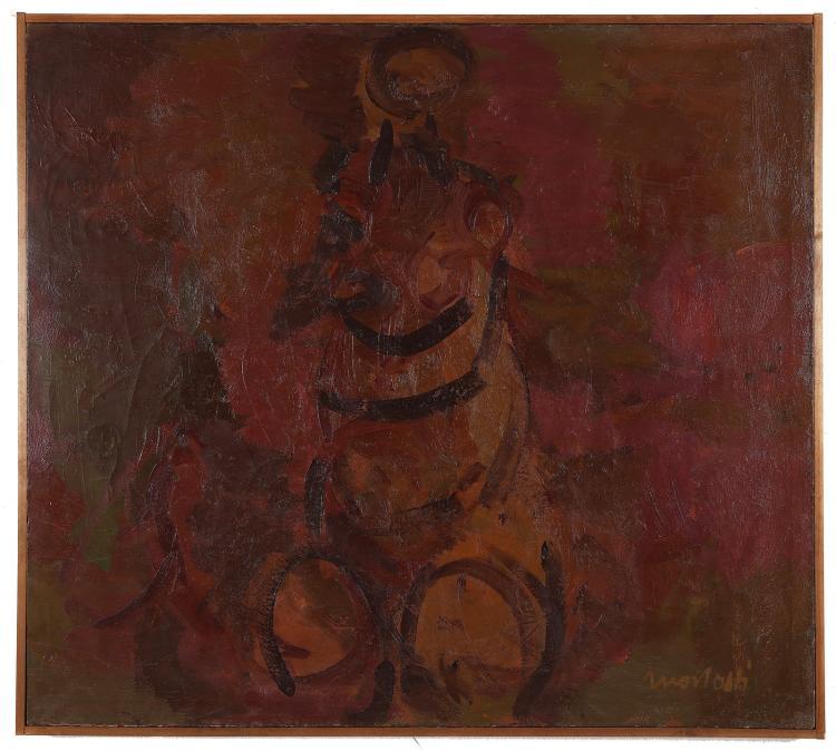 MORLOTTI ENNIO (1910 - 1992) Study for nude.