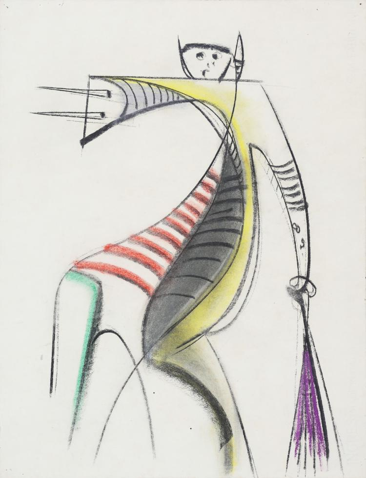 LAM WILFREDO (1902 - 1982) Untitled.