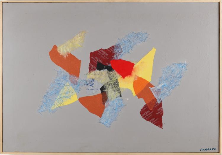 TURCATO GIULIO (1912 - 1995) Untitled.
