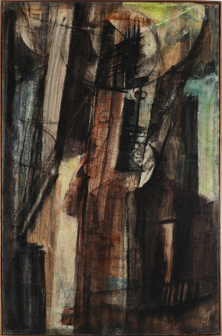BASALADELLA AFRO (1912 - 1976) Giaccona.