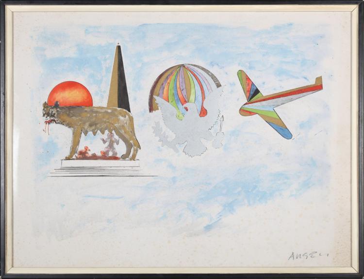 ANGELI FRANCO (1935 - 1988) Untitled.