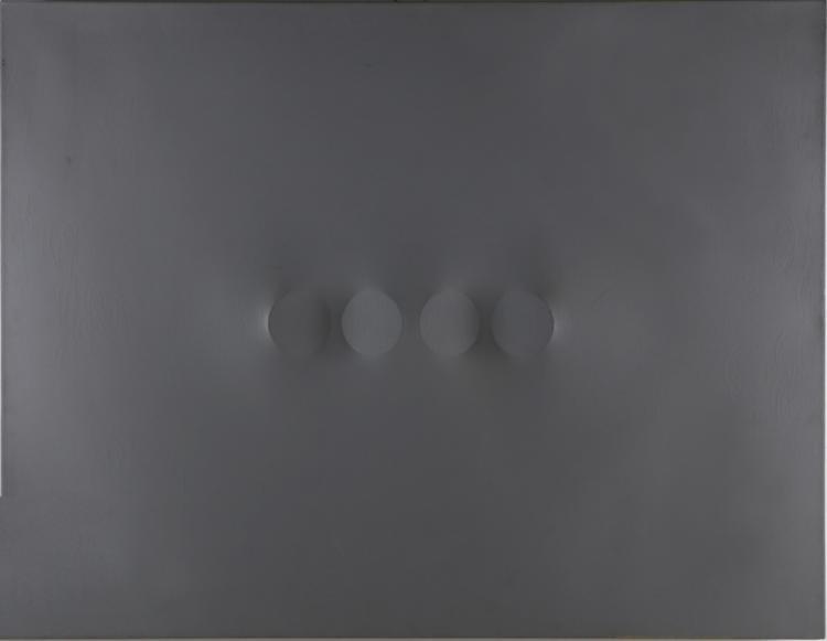 SIMETI TURI (n. 1929) Four ovals.