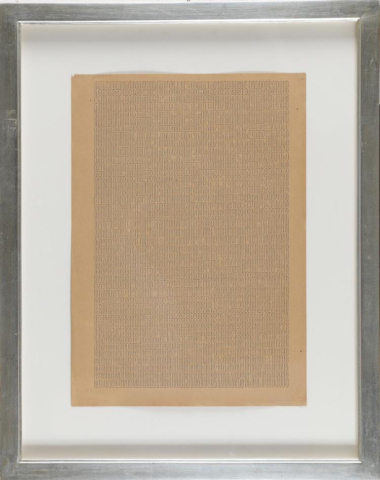 DADAMAINO (1935 - 2004) Letter 7.